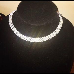 Swarovski Lace Link Necklace